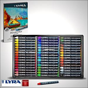 Lyra Aquacolor - kredki akwarelowe woskowe - Sklep Plastyczny tradeArts