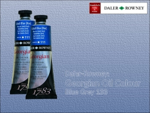 Farba olejna Georgian Oil Colour Daler-Rowney, kolor: Blue Grey 133, tuba 75 ml  (
