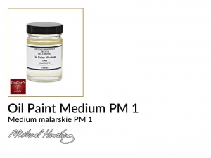 Medium malarskie PM1 do farb olejnych Michael Harding, opak. 100 ml