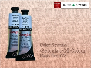 Farba olejna Georgian Oil Colour Daler-Rowney, kolor: Flesh Tint 577, tuba 75 ml